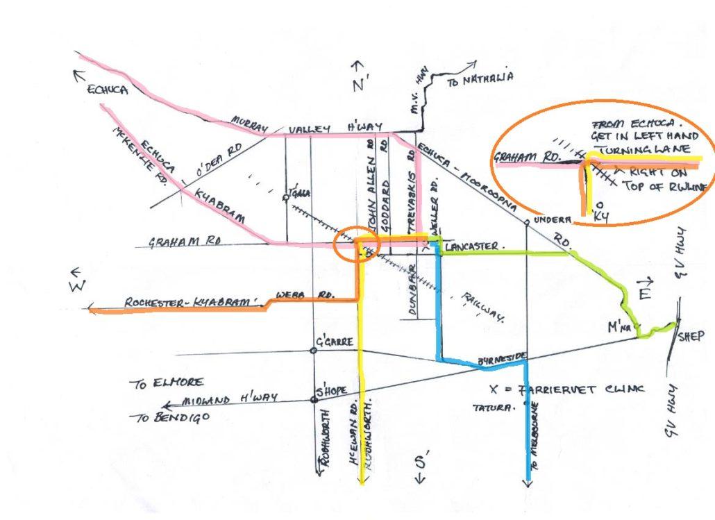 map to farriervet